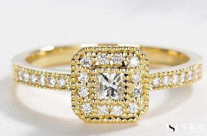 黄金带钻戒指可不可以典当重点得看它