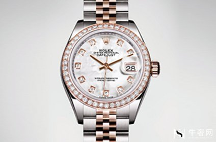 劳力士女装日志型镶钻手表典当价格几折