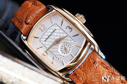 汉密尔顿百灵系列女士旧手表典当高吗