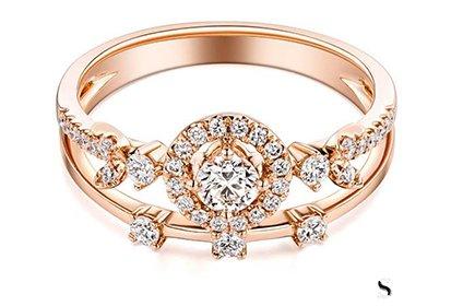 中国黄金的钻石戒指可以典当吗